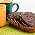 Gallette di riso al cioccolato