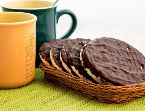 Gallette di riso al cioccolato, dolci facili senza burro