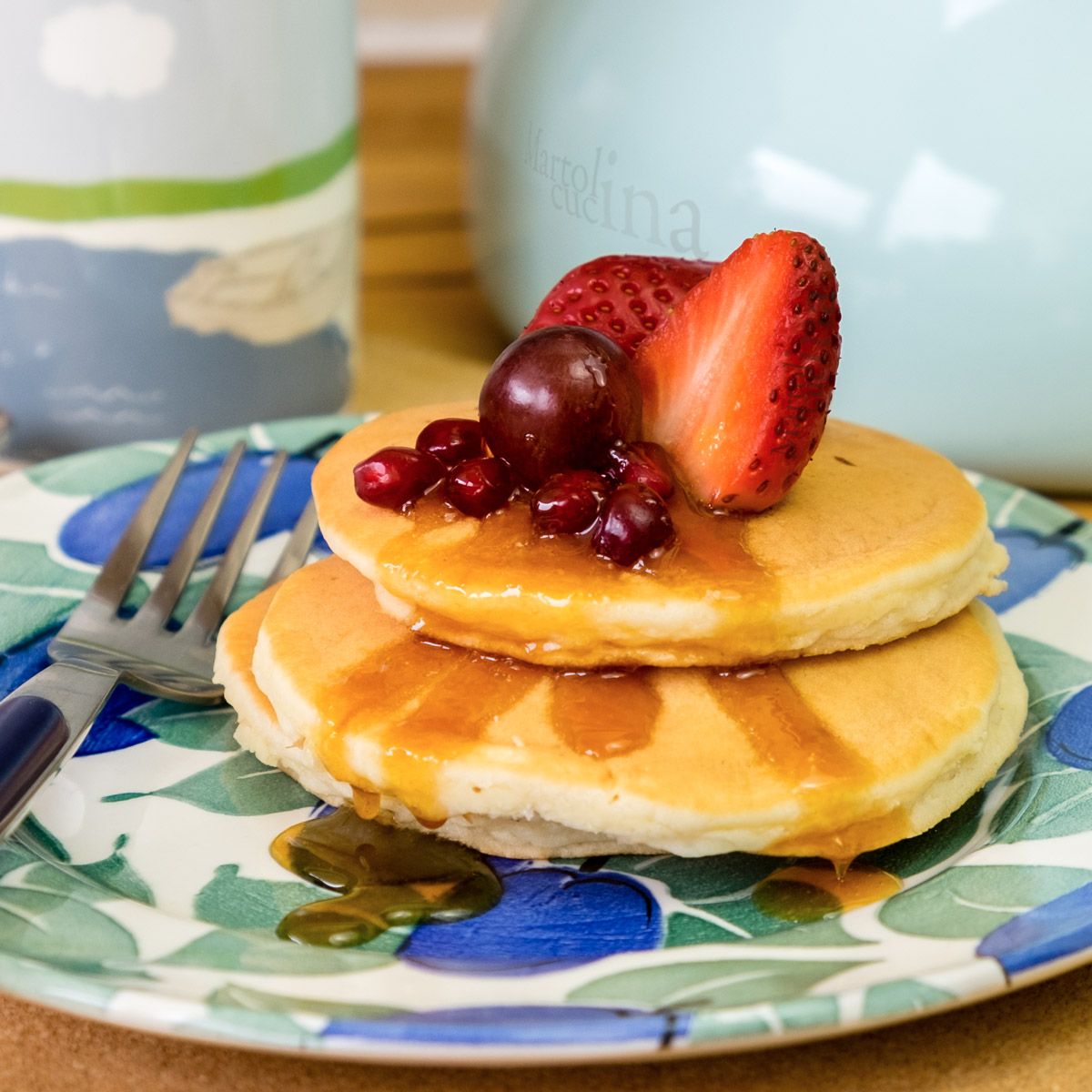Pancakes di ricotta