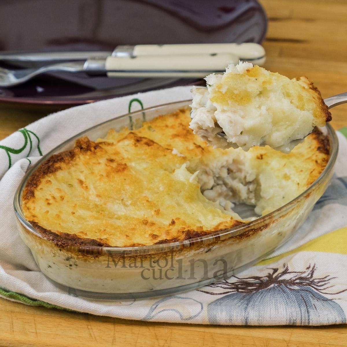 Famoso Sformato di pesce e patate | Ricetta facile | Secondo | Piatto unico MZ32