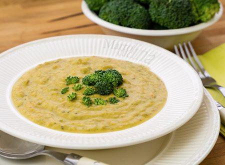 Vellutata broccoli e stilton, ricetta facile