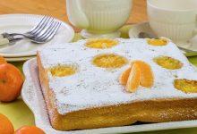 Dolce ai mandarini, dessert senza burro e latte