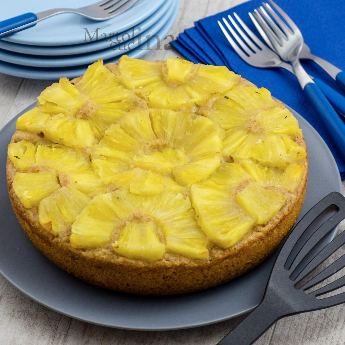 Dolce integrale ananas e ricotta