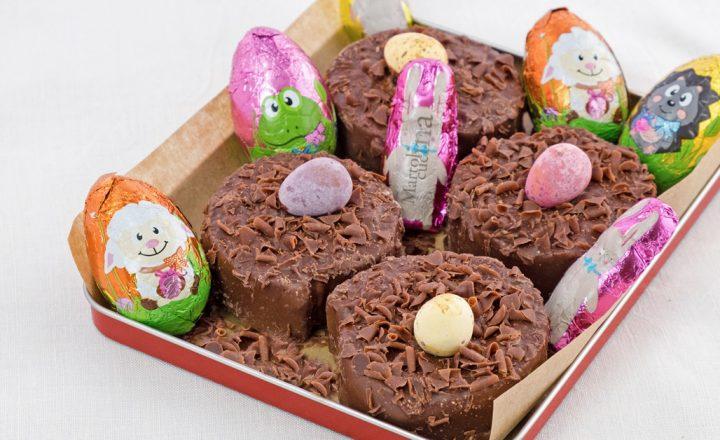 Dolcetti di Pasqua senza cottura, ricetta facile al cioccolato