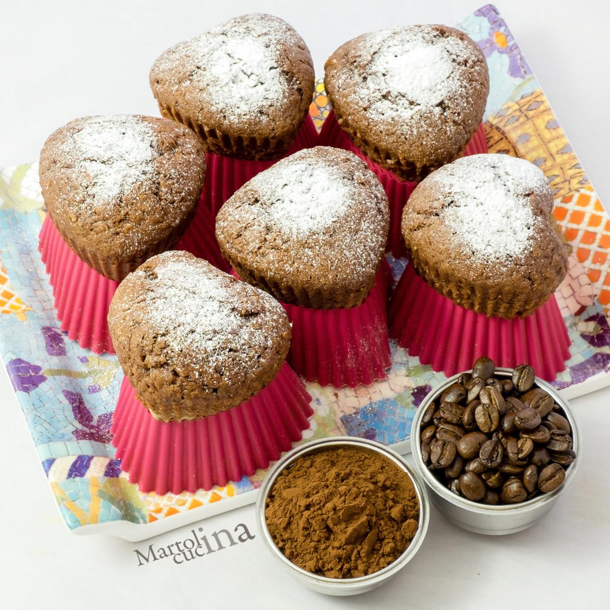 Muffin al cioccolato di Starbucks