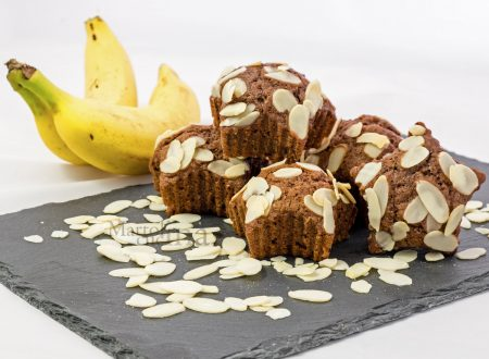 Muffin banane e cioccolato senza burro, ricetta facile