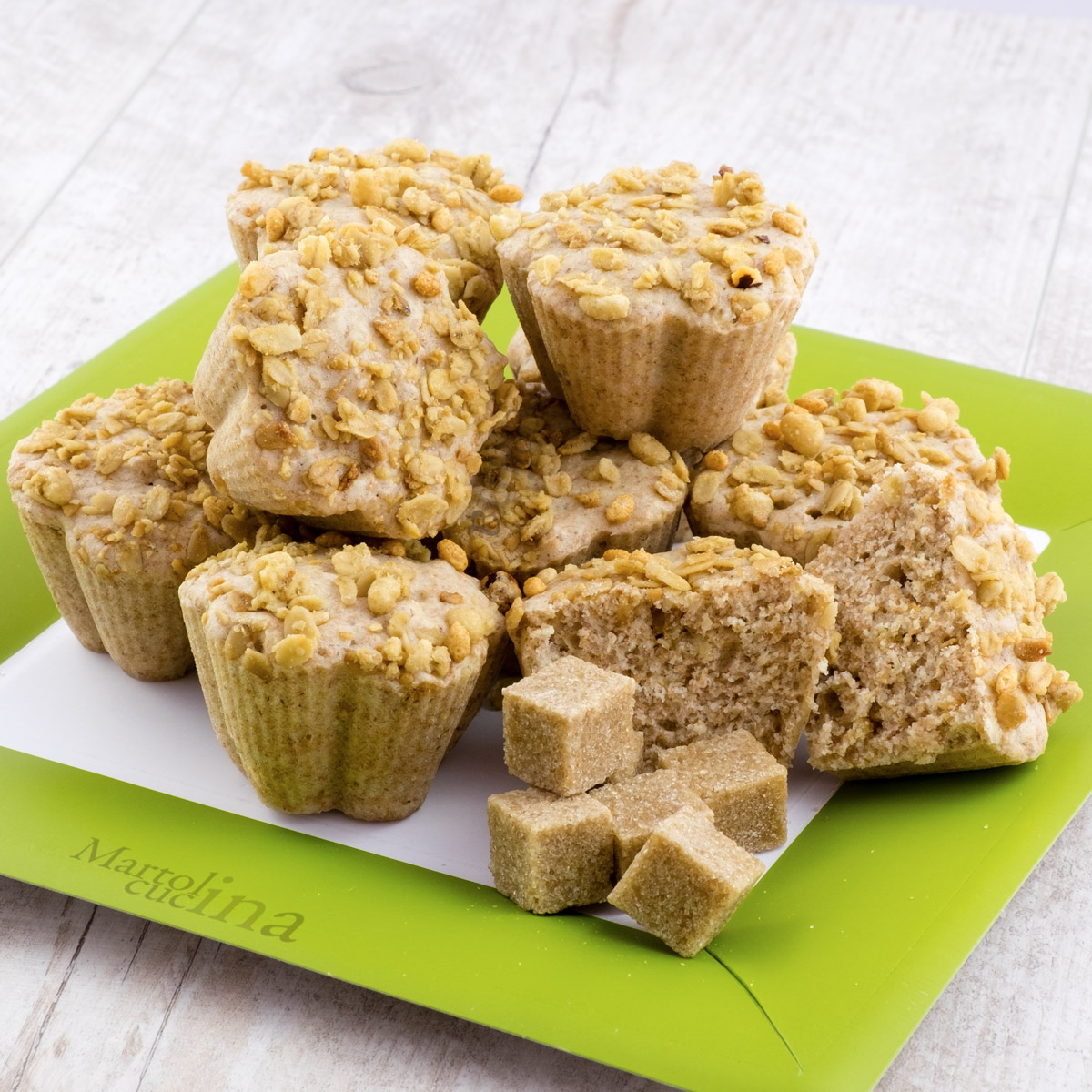 Muffin integrali al muesli
