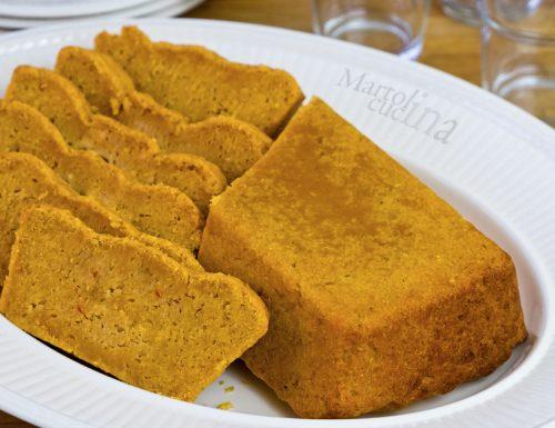 Plumcake salato tonno e pomodorini, senza burro e bilancia