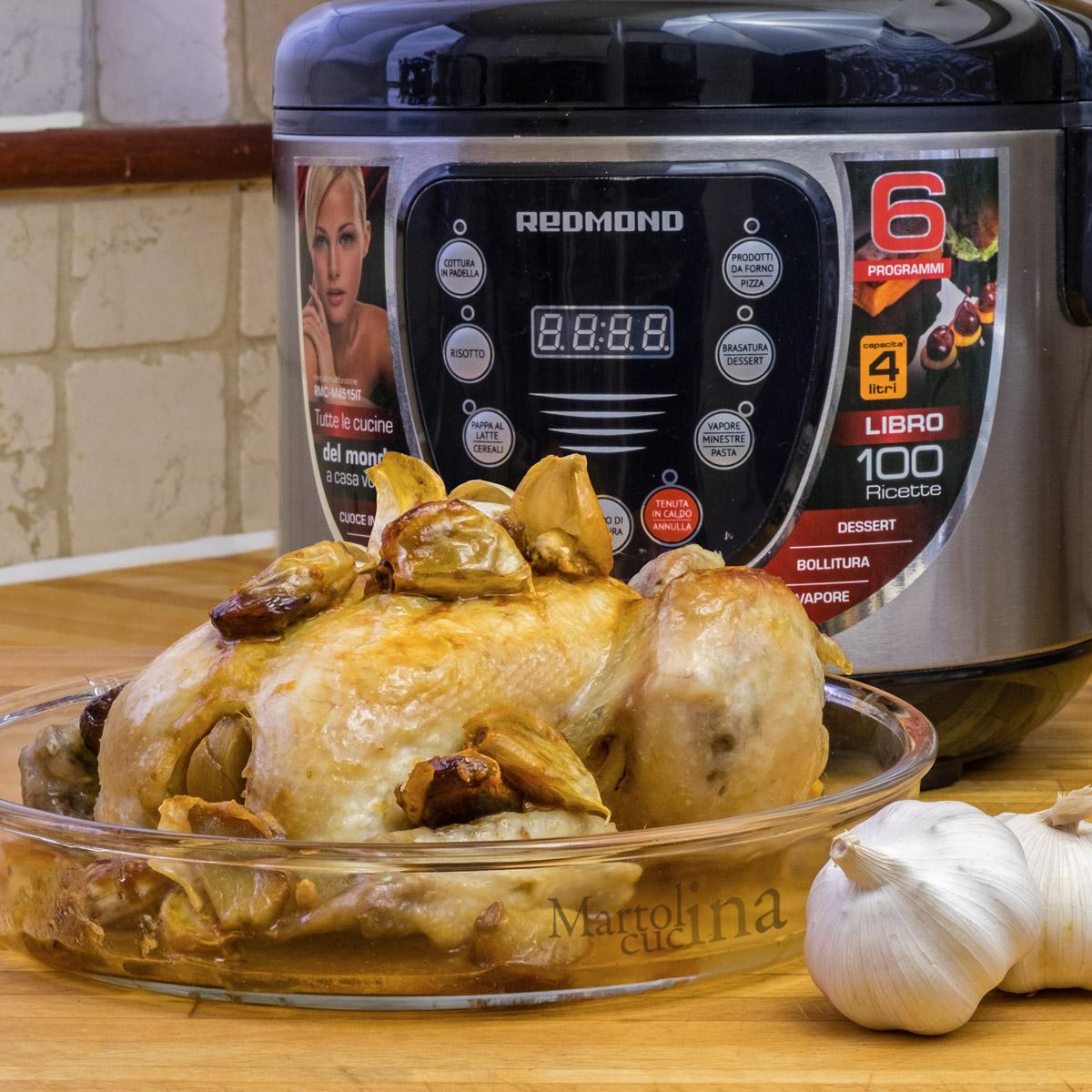 Pollo ai 40 spicchi di aglio
