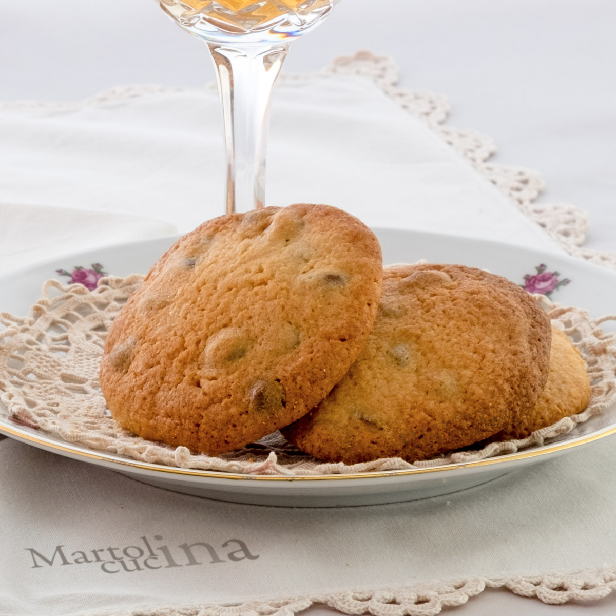 Biscotti di pane al cioccolato