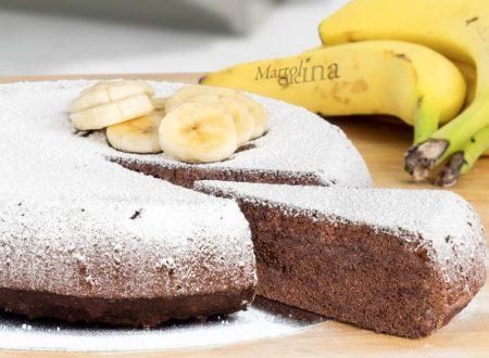 Dolce con cacao banane e olio di oliva, ricetta facile e golosa