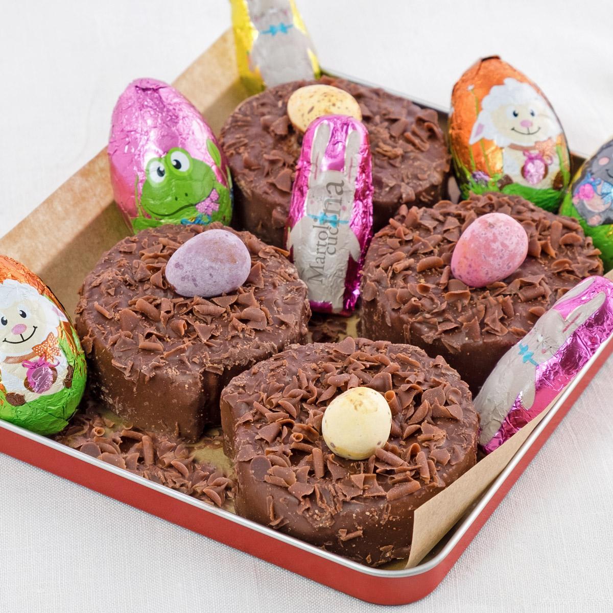 Dolcetti di Pasqua senza cottura