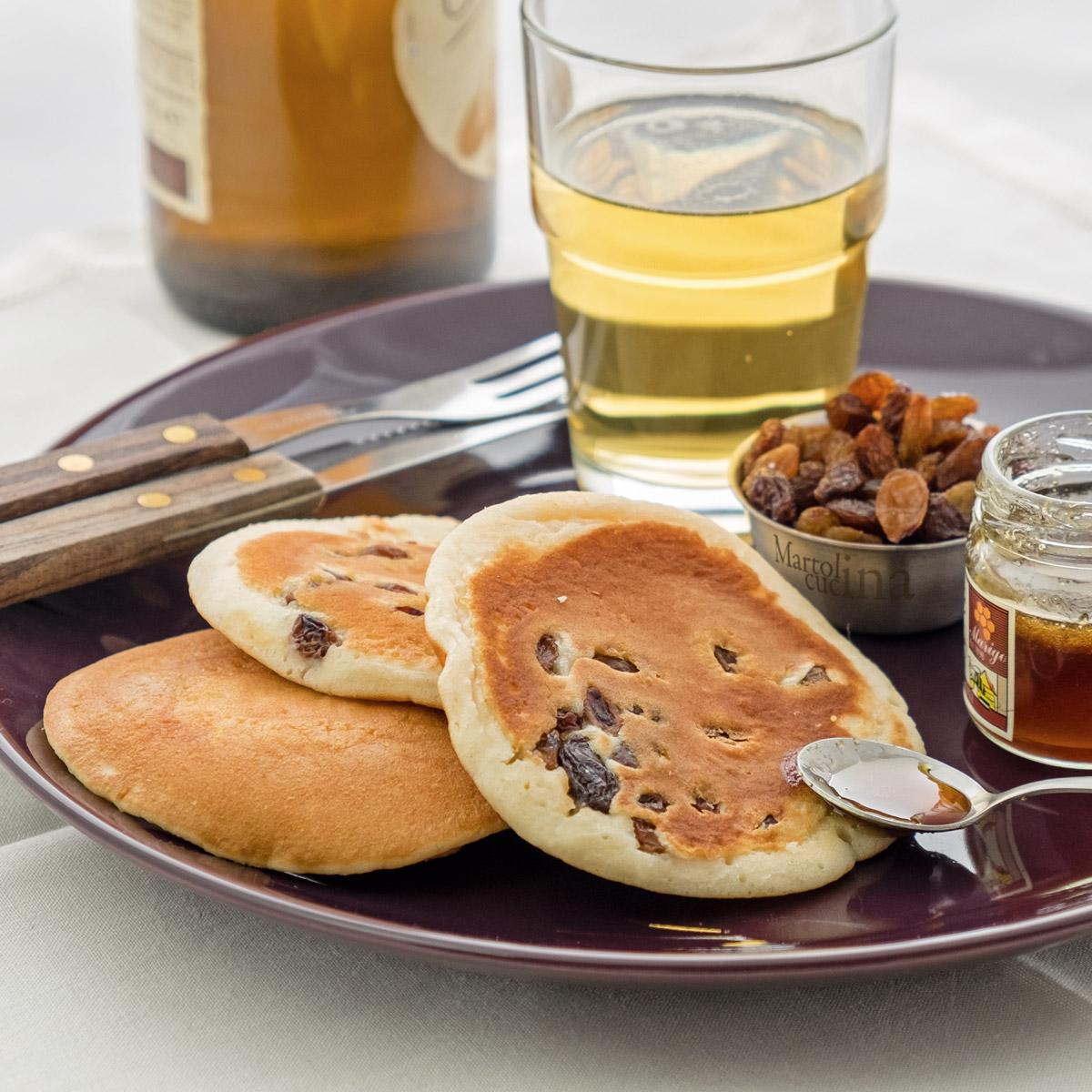 Pancakes alla birra