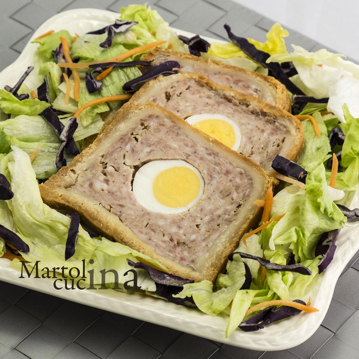 Torta di carne e uova