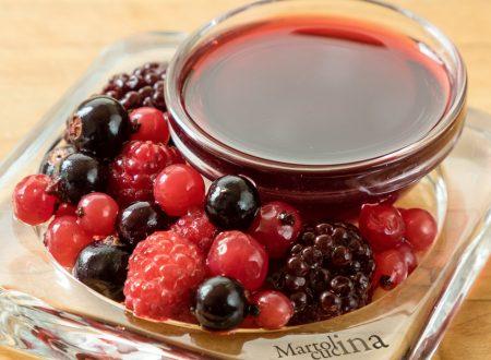 Bagna ai frutti di bosco, ricetta facile