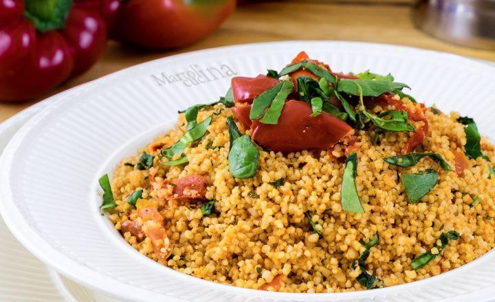 Couscous con peperoni, ricetta facile
