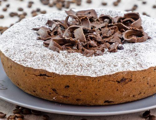 Torta di cioccolato e caffe, ricetta facile