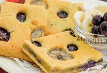 Pancakes al taglio in forno, ricetta facile e veloce