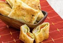 Sfogliatine pesto, zucchine e pomodori, ricetta facile