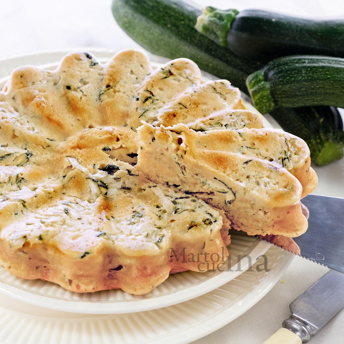 Cake zucchine e curcuma