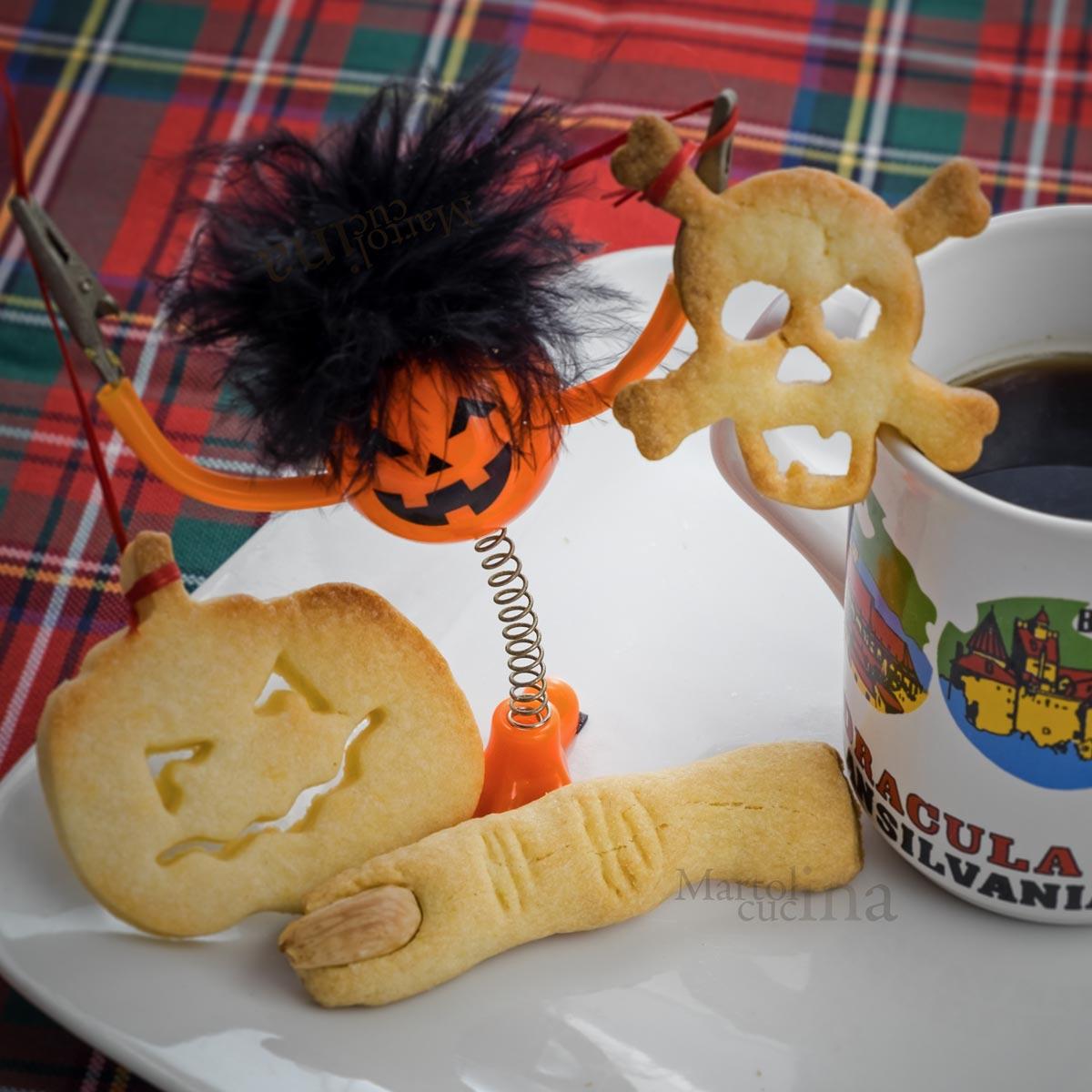 Biscotti di Halloween al limone
