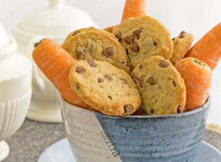 Biscotti carote cioccolato, ricetta facile