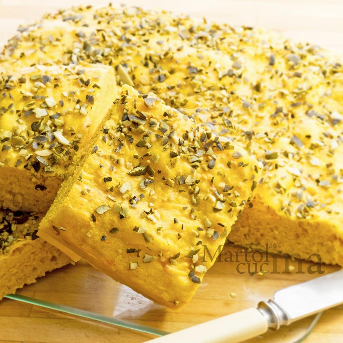 Cake salato di zucca