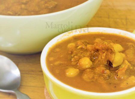 Zuppa di pollo, ricetta marocchina