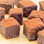 Brownies cioccolato e patate dolci