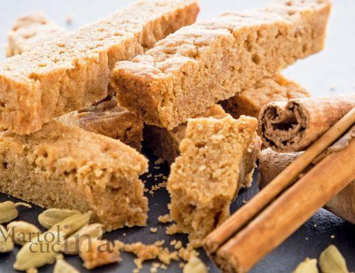 Shortbread alle spezie, ricetta biscotti facilissimi