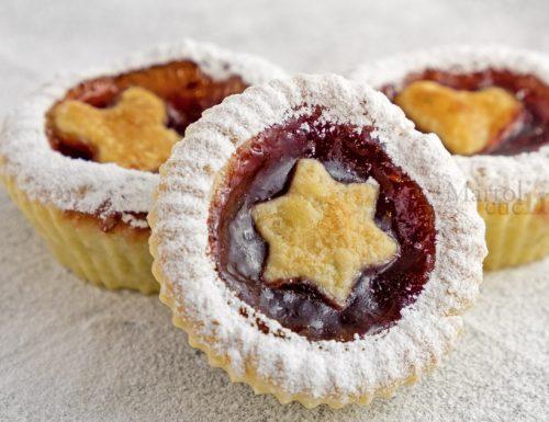 Crostatine muffin alla confettura, ricetta facile, dolce