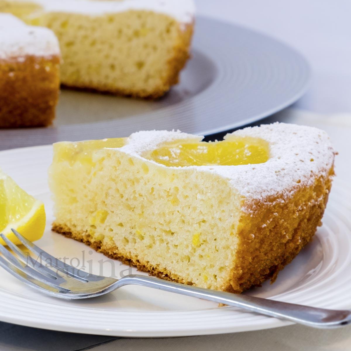 Dolce ricotta e limone