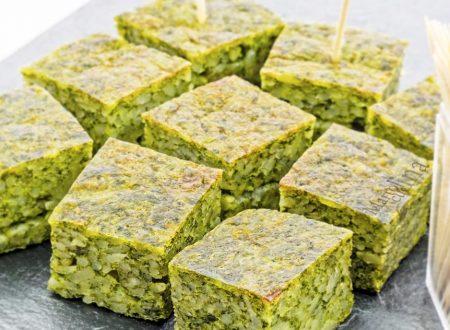 Frittata di riso agli spinaci, ricetta facile e veloce