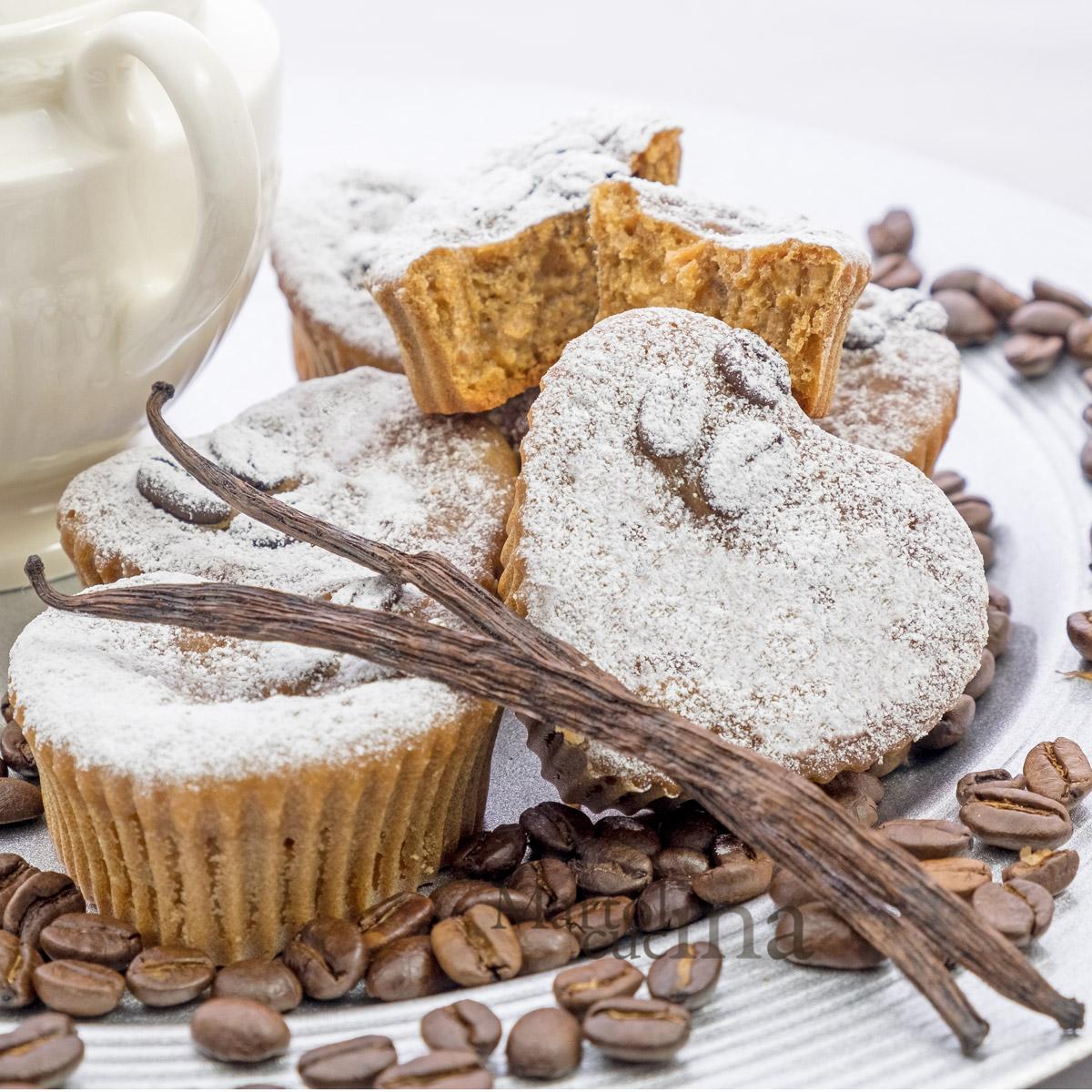 Muffin panna e caffè