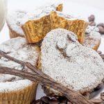Muffin panna e caffè, dolci soffici e golosi