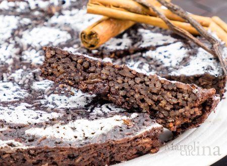 Torta di riso al cacao e peperoncino, ricetta facile, dolce goloso