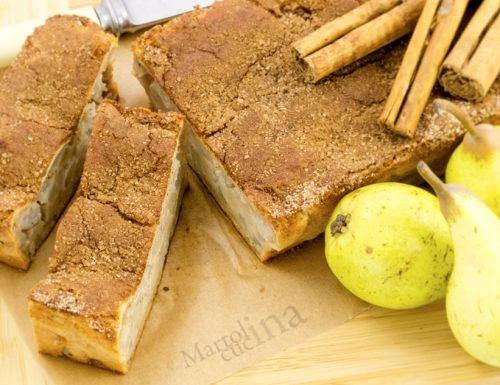 Cake di pere, con tantissima frutta