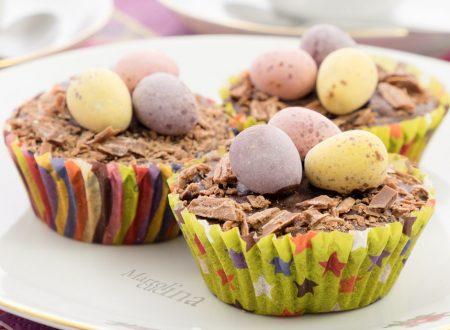 Muffin al cioccolato, ricetta di Pasqua