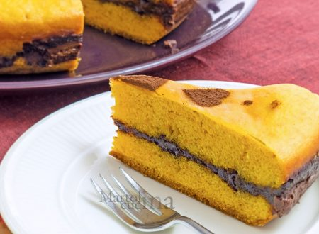 Torta carote e nutella, ricetta col trucco, senza burro e latticini