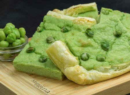 Torta salata con piselli e feta, ricetta facile
