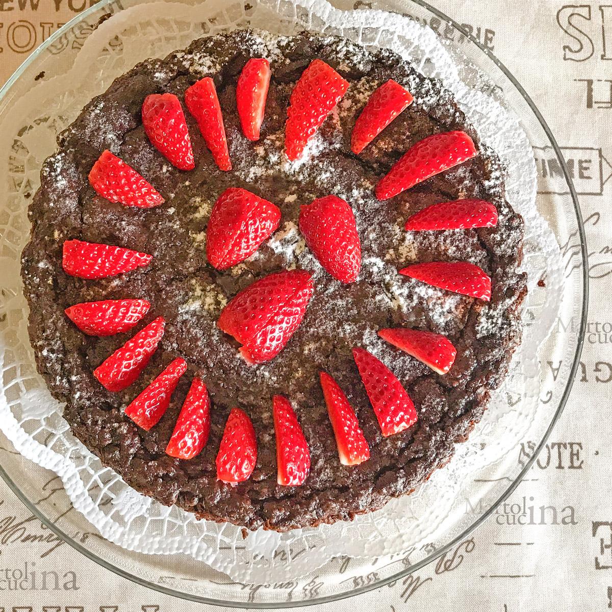 Torta quinoa e cioccolato