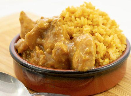 Pollo al curry, ricetta facile, secondo di carne