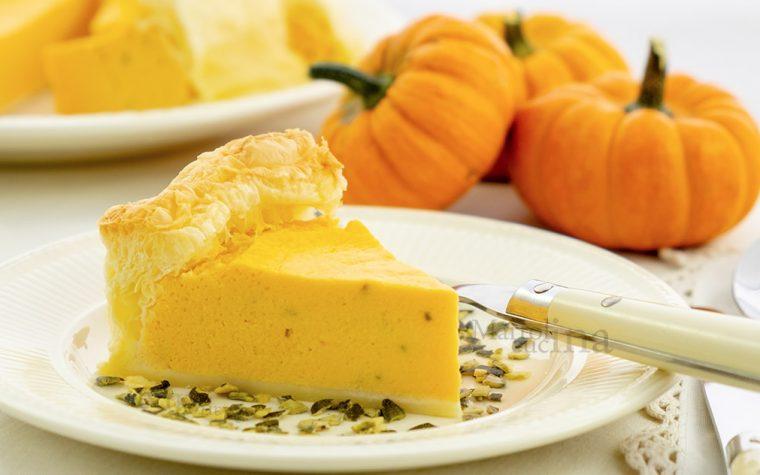 Torta salata con zucca e ricotta, ricetta facile e veloce