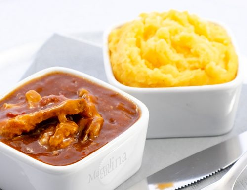 Maiale in salsa barbecue in pentola a pressione, ricetta facile
