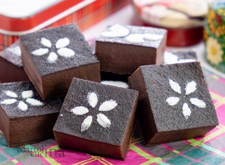 Torta latte e cacao cremosa senza lievito