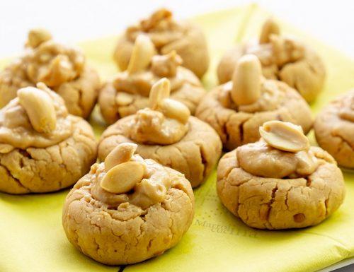 Biscotti alle arachidi, 3 ingredienti, dolci facilissimi