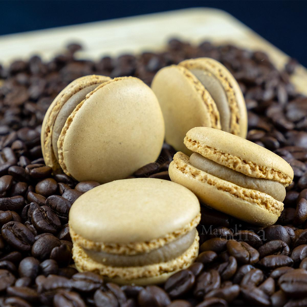 Macaron al caffè