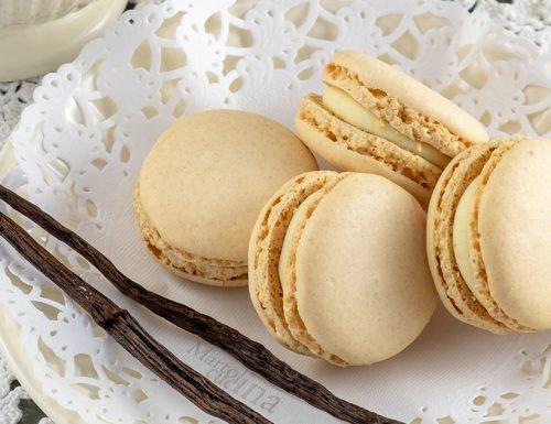 Macaron alla vaniglia, ricetta infallibile, perfetti