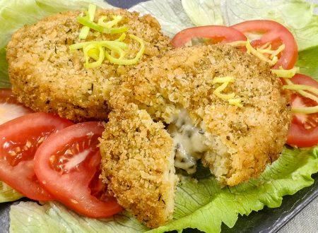 Burger di merluzzo e formaggio, ricetta secondo facile
