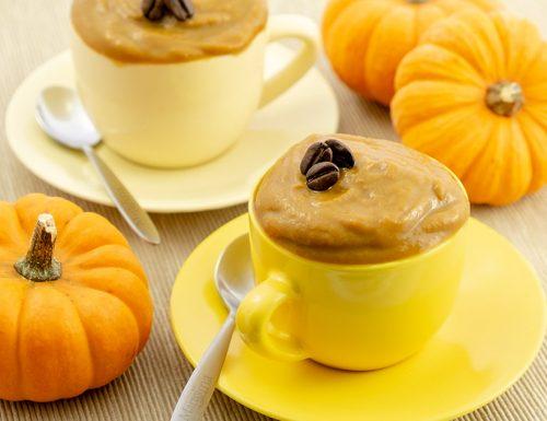 Mousse di zucca e caffè, dessert facile e goloso